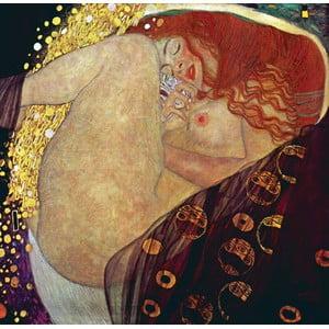 Gustav Klimt - obraz Danae, 80x80 cm