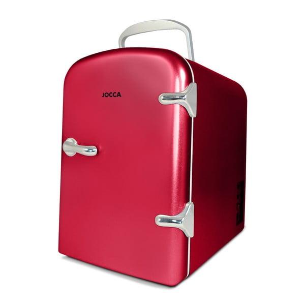 Mini Frigider portabil JOCCA Mini, roșu