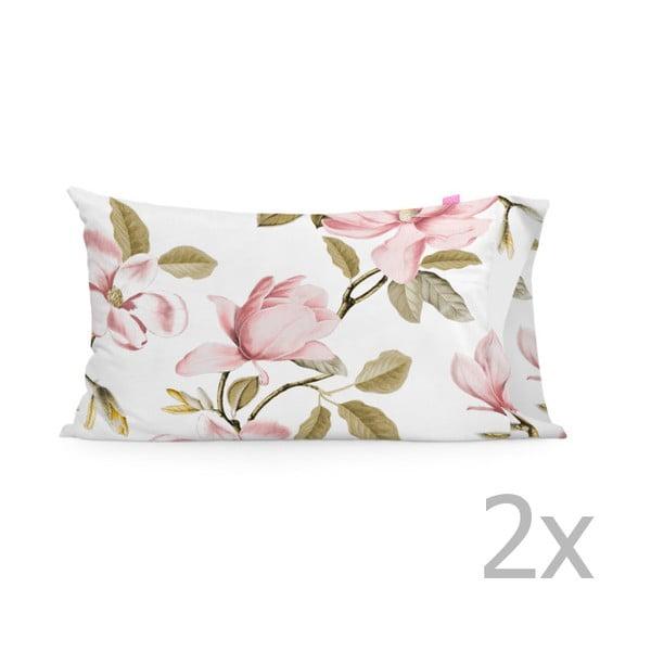 Sada 2 povlaků na polštář Happy Friday Magnolia,50x80cm