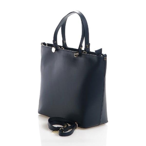 Kožená kabelka Viviana, tmavě mdorá
