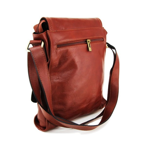 Kožená unisex taška Norado Marrone