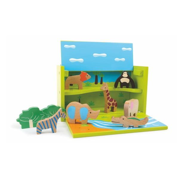 Zoo Play játékdoboz - Legler