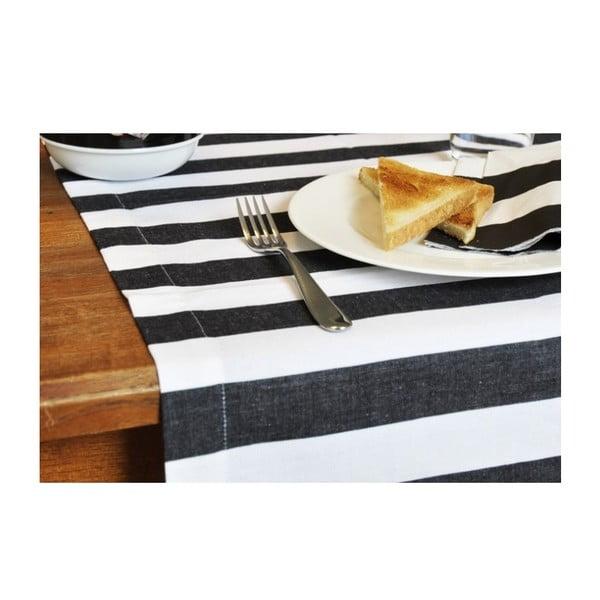 Běhoun na stůl Black & White