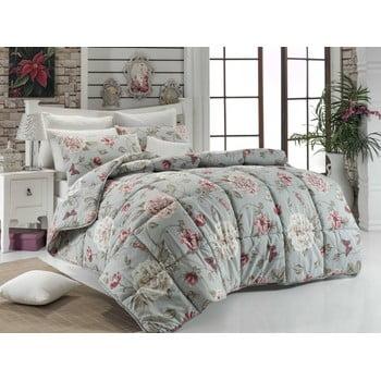 Cuvertură matlasată pentru pat matrimonial Sandiego Mint, 195×215 de la Eponj Home