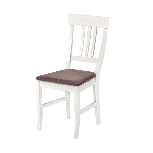 Jídelní židle Supreme, hnědý podsedák