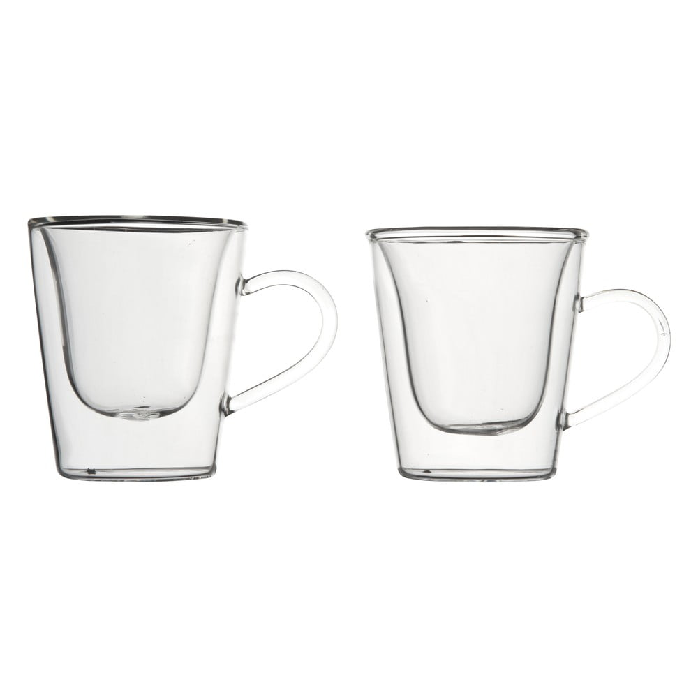 Sada 2 dvoustěnných sklenic na espresso Bredemeijer, 120 ml