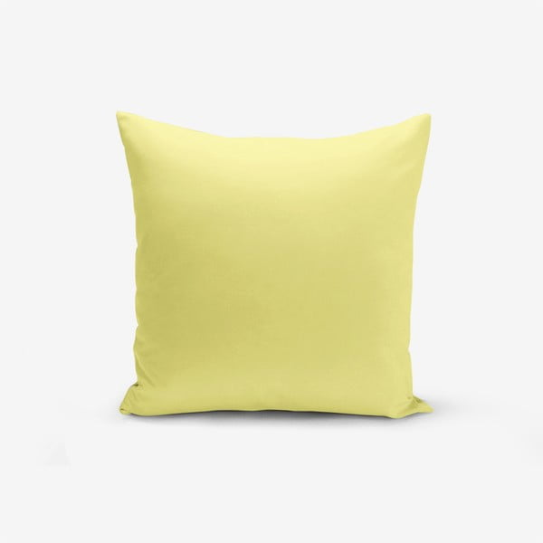 Sárga párnahuzat, 45 x 45 cm - Minimalist Cushion Covers