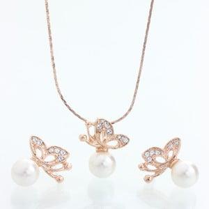 Set náhrdelníku a náušnic s krystaly Swarovski Elements Laura Bruni Tiala