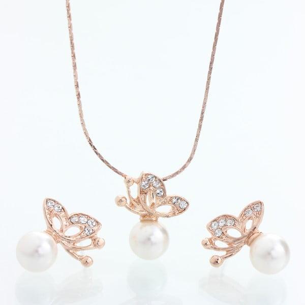 Komplet naszyjnika i kolczyków z kryształami Swarovski Elements Laura Bruni Tiala