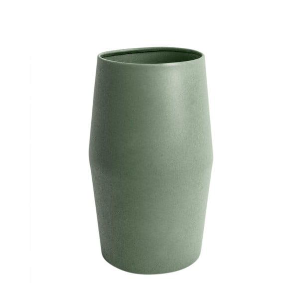 Světle zelená váza PT LIVING Nimble, výška27cm