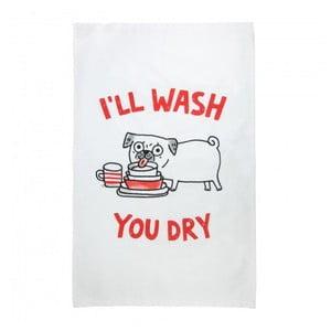 Bavlněná utěrka Ohh Deer I'll Wash You Dry, 50 x 70 cm