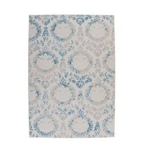 Světle modrý koberec Kayoom Heather 623 Blue, 80x150cm