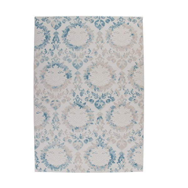 Světle modrý koberec Kayoom Heather 623 Blue, 160x230cm