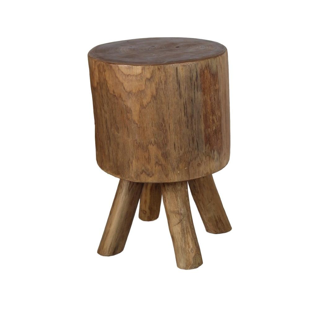 Stolička z teakového dřeva HSM Collection Solid