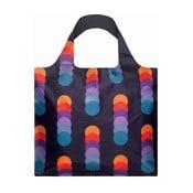 Skládací nákupní taška s kapsičkou LOQI Circles