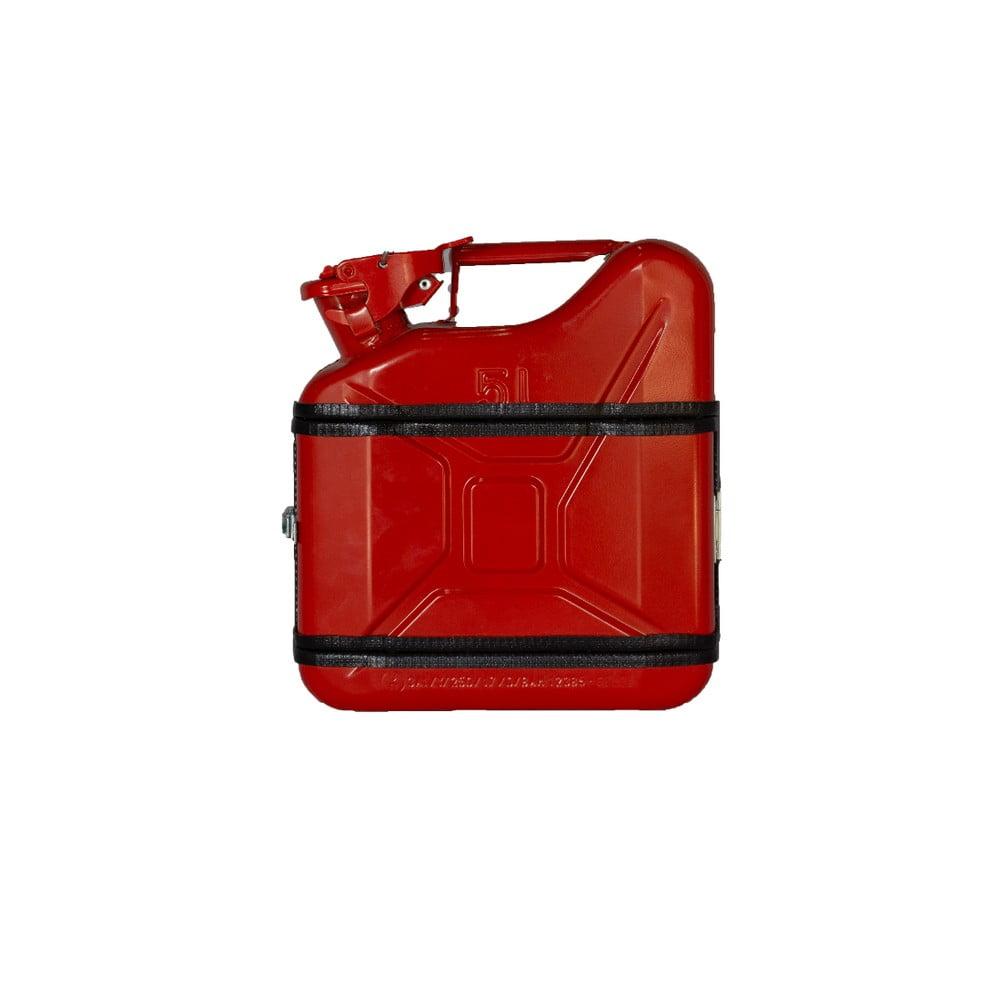 Červený dárkový kanystr Designed By Man, 5 l