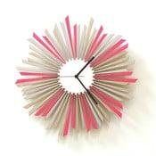 Dřevěné hodiny The Star, 41 cm