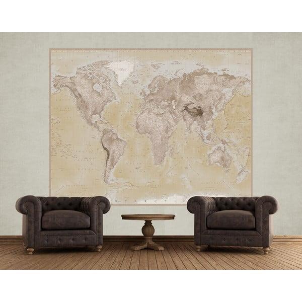 Velkoformátová tapeta Map, 158x232cm