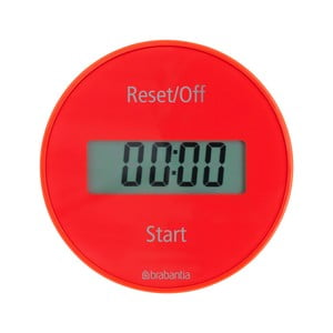 Cronometru bucătărie Brabantia Timer, roșu