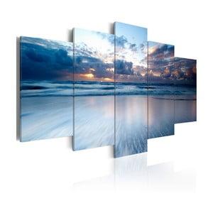 Vícedílný obraz na plátně Bimago Endless Water, 50x100cm