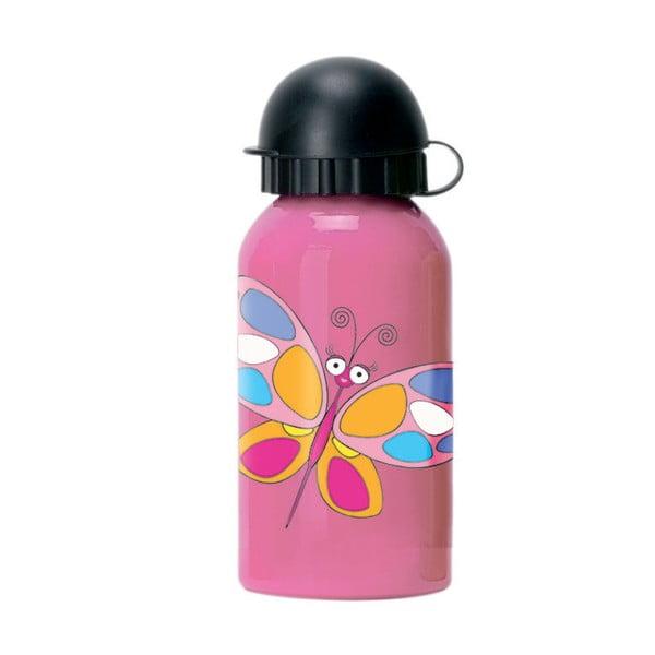 Dětská lahev Navigate Butterfly, 330 ml
