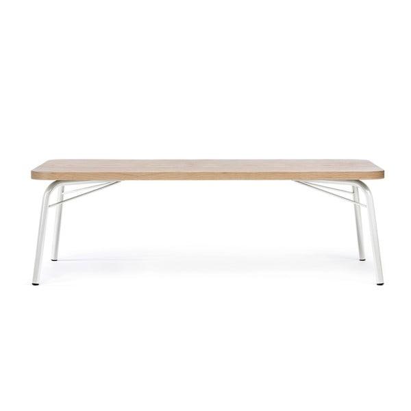 Konferenční stolek s bílými nohami Woodman Ashburn
