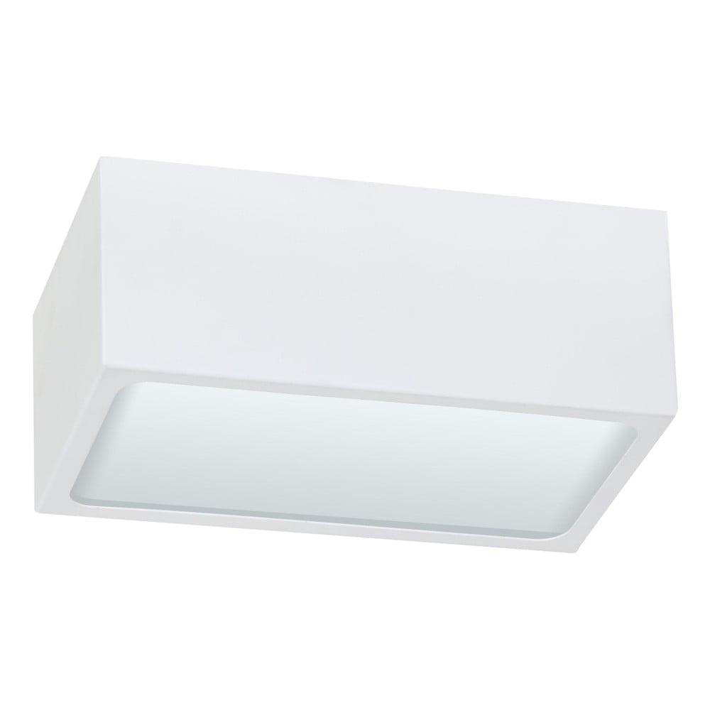 Bílé stropní svítidlo Glimte Klip Uno Duro