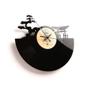 Vinylové hodiny Sunset