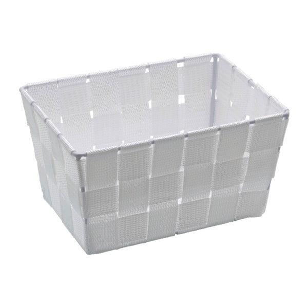 Coș pentru depozitare Wenko Adria, 14 x 19 cm, alb