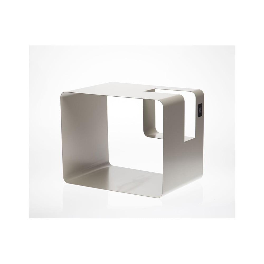 Krémový stojan na časopisy MEME Design Libris