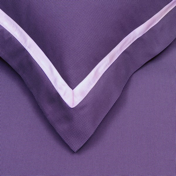 Povlečení na jednolůžko Birds Purple 16, 140x220 cm