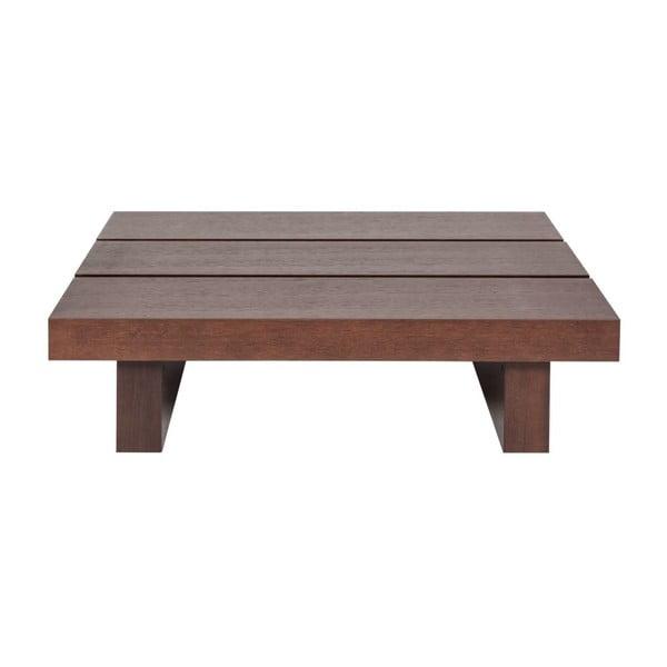 Konferenční stolek v dekoru tmavého dřeva TemaHome Tokyo Low