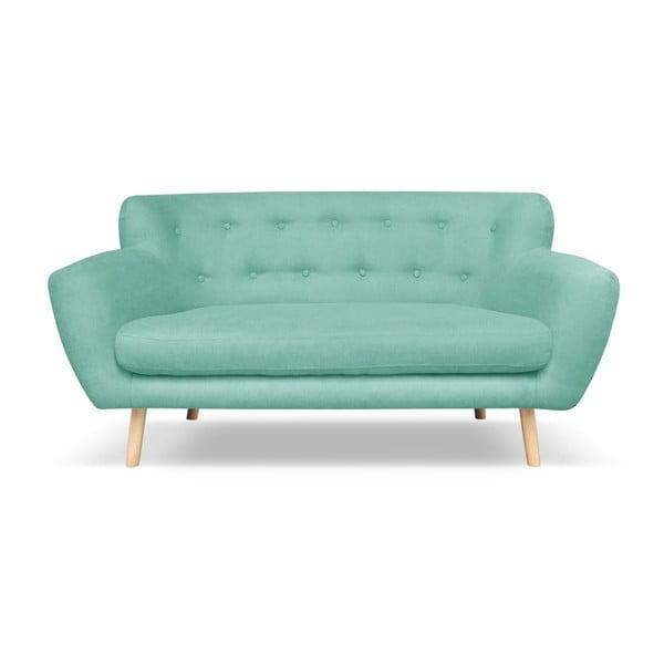 Mátově zelená pohovka pro dva Cosmopolitan design London