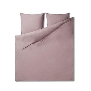 Lenjerie de pat din bumbac Casa Di Bassi Softtouch, 200 x 200 cm, roz deschis