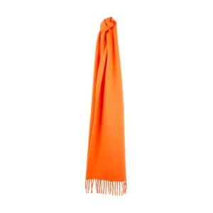 Oranžová kašmírová šála Sinclair Duncan