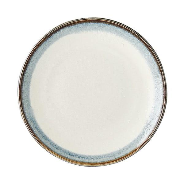 Aurora fehér kerámia tányér, ø 25 cm - MIJ