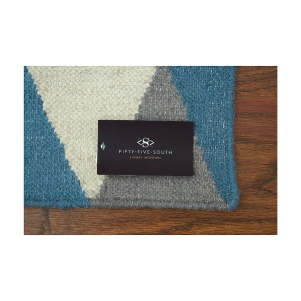 Ručně tkaný koberec Oslo Mosaic,  120x180 cm