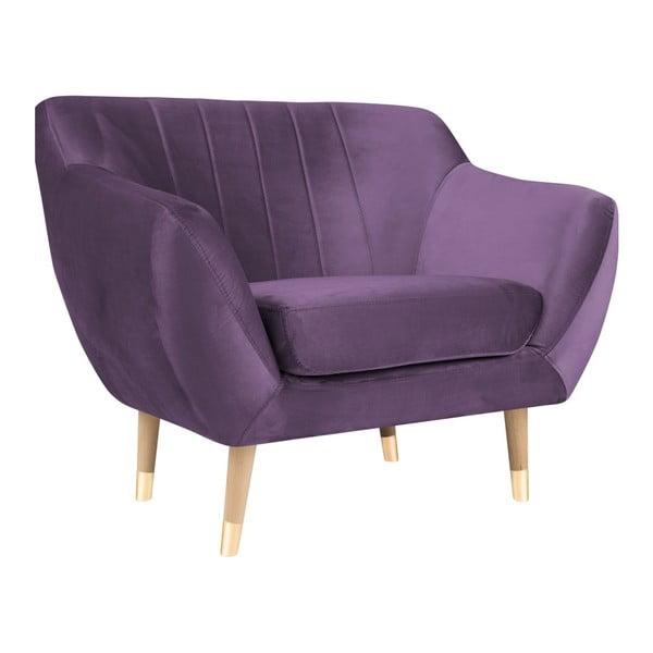 Fotoliu Mazzini Sofas Benito, violet