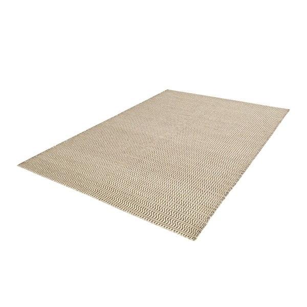 Ručně tkaný koberec Grey Waves Kilim, 108x160 cm