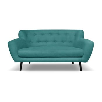 Canapea cu 2 locuri Cosmopolitan desing Hampstead, verde închis de la Cosmopolitan Design