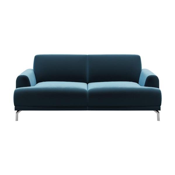 Canapea cu 2 locuri MESONICA Puzzo, albastru