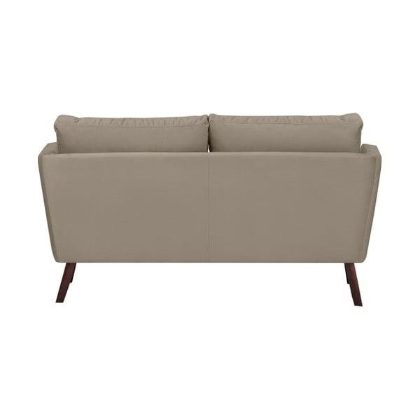 Béžová 2místná pohovka Mazzini Sofas Cotton