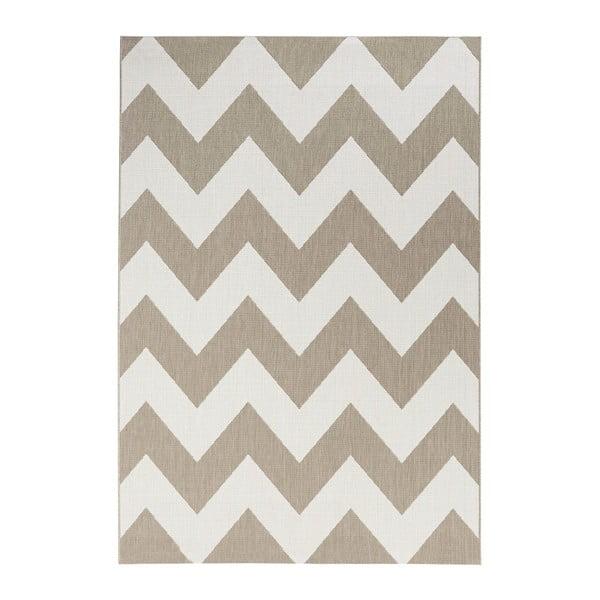 Unique bézs-fehér kültéri szőnyeg, 160 x 230 cm - Bougari