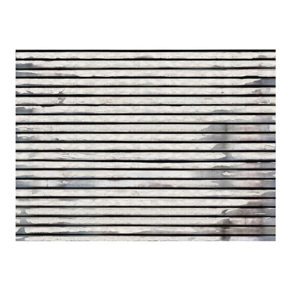 Velkoformátová tapeta White Wood, 315x232cm