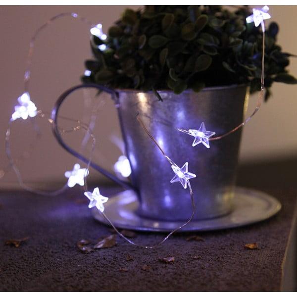 Světelný LED řetěz Best Season Stars, 110 cm
