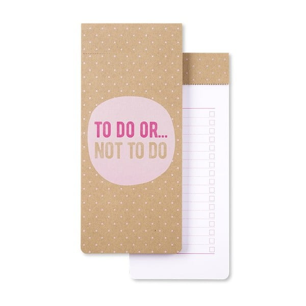 Caiet notițe GO Stationery To Do Or Not