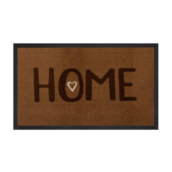 Rohožka Hansa Home Brown Printy, 45 × 75 cm