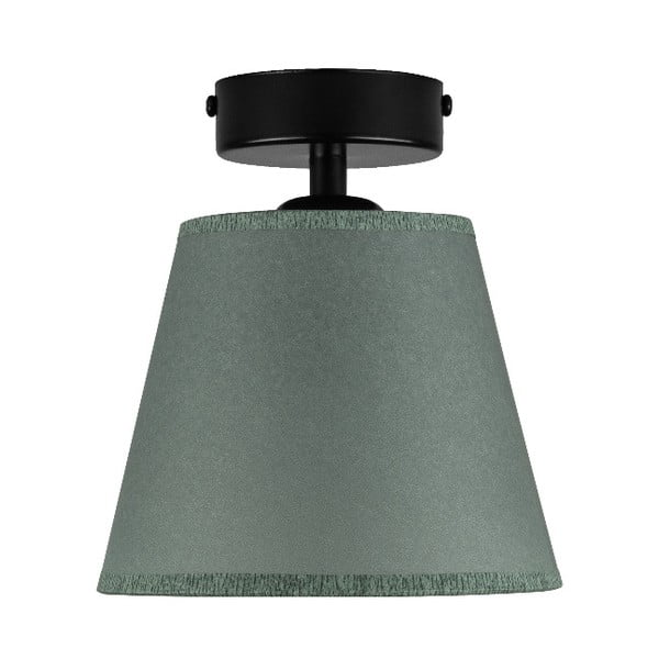 IRO Parchment olivazöld mennyezeti lámpa, ⌀ 16 cm - Sotto Luce