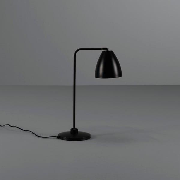 Černá stolní lampa Design Twist Cervasca