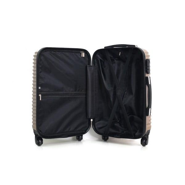 Cestovní kufr ve zlatobéžové barvě na kolečkách Hero Etna, 61 l